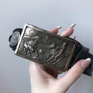 Other - Sterling Silver Max Lang Belt